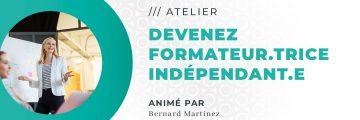 Freelance : Devenez Formateur.trice Indépendant.e