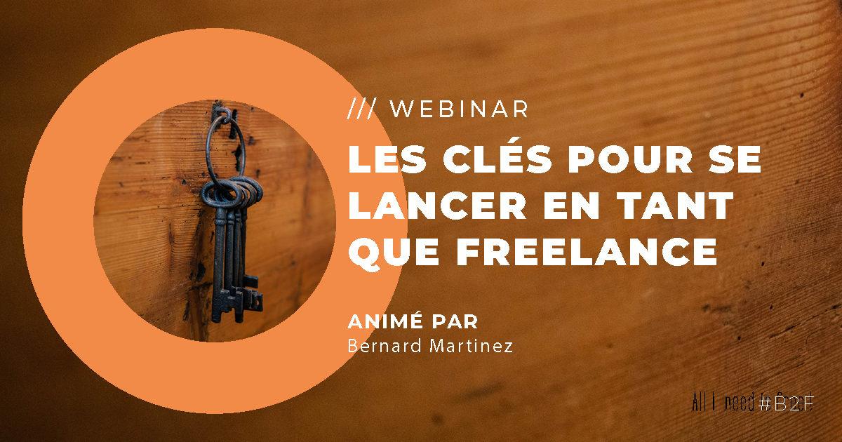 WEBINAR : Les clés pour se lancer en tant que freelance
